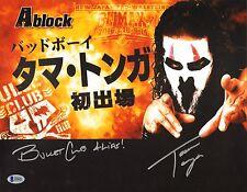 Tama Tonga Signed 11x14 Photo BAS COA New Japan Pro Wrestling Bullet Club NJPW H