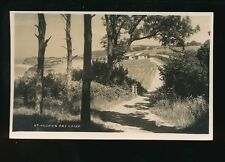 Somerset ST AUDRIES BAY Camp Used 1938 RP PPC by H.H.Hole Williton