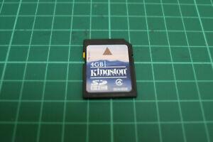Kingston 4GB SDHC SD Class 4 Card SD4/4GB for Digital Cameras, Used