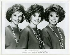 ORIG PROMOTIONAL PHOTO MCGUIRE SISTERS IMPERIAL ROOM ROYAL YORK HOTEL Toronto