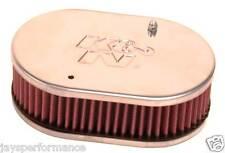 56-9105 Filtro aria K&N Custom per Singolo & Doppio Barile Weber 40/45/48 DCOE carburatori