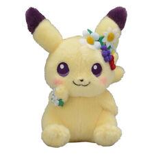 Pokemon Center Original Plush Doll Easter Garden Party Pikachu
