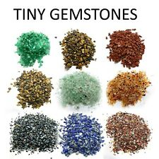 Mini Chips Tiny Gemstones Polished Natural 200 Pieces Healing Semi Precious