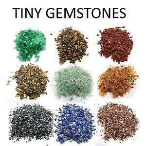 Mini Chips Tiny Gemstones Polished Natural 200 Pieces Healing Semi Precious