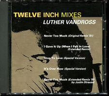 LUTHER VANDROSS - TWELVE INCH MIXES - CD ALBUM [1019]