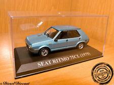 SEAT RITMO 75-CL 75CL METALLIC SOFT BLUE 1979 1:43 MINT