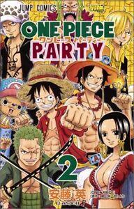JAPAN NEW One Piece Party 2 (Jump Comics) Ei Andoh, Eiichiro Oda manga book