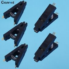 5Pcs SOP8 8-Pin SOIC 8 Test Clip Clamp IC Testing Programmer  For BIOS 24/25/93