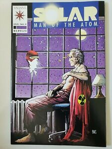 SOLAR MAN OF THE ATOM #5 (1992) VALIANT COMICS 1ST APPEARANCE OF ORB INDUSTRIES!