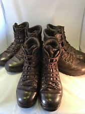 Genuine British Army Grade1 ALTBERG Defender Brown Leather MTP Boots Male Female