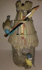 Marjolein Bastin Bird House! Nature's Sketchbook Hallmark Candle Jar Holder Euc!