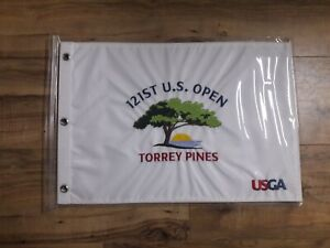 2021 US Open OFFICIAL (Torrey Pines) EMBROIDERED Flag