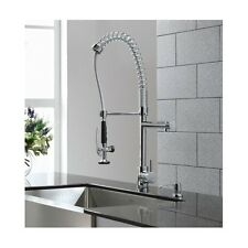 Single Handle Pull Down Faucet Swivel Spout Kitchen Sink Spray Kraus Commercial