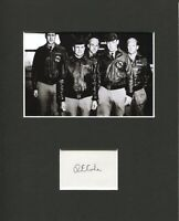 Richard Dick Cole Doolittle Raid Co-Pilot WWII Signed Autograph Photo Display