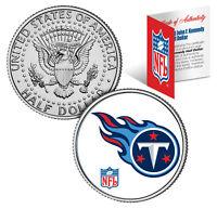 TENNESSEE TITANS  NFL JFK Kennedy Half Dollar US Coin  *Officially Licensed*