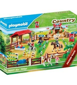 Playmobil 70337 Country Farm Horse Riding Arena Equestrian - BNIB