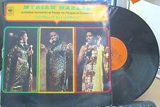 MYRIAM MAKEBA Appello All'Africa (1971) LP VINYL CBS 64527
