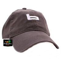 "NEW BANDED GEAR RELAX CAP HAT CHARCOAL GRAY  ""b"" LOGO ADJUSTABLE"