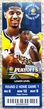 BEAUTIFUL INDIANA PACERS PLAYOFF TICKET STUB - PAUL GEORGE & ROY HIBBERT - MINT!