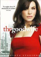 The Good Wife - Stagione 5 - Cofanetto Con 6 Dvd - Nuovo Sigillato