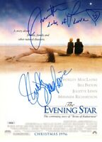 Juliette Lewis Shirley MacLaine signed autographed Evening Star movie ad JSA COA