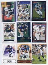 Todd Heap 9 different card lot Topps Bowman Chrome UD Ultra Absolute Threads