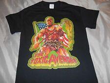 the toxic avenger t shirt movie horror cult troma toxic avenger nukem high