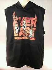 Everlast Sleeveless Hoodie Men's Athletic Vest Boxing Flame Graphic XLÈĹ