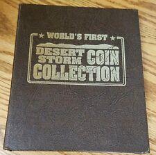 World's First Desert Storm 1991 Hutt River Province $5 Coin Complete Set Gem BU