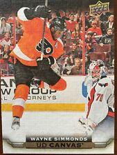 5a235f019c3 2015-16 UD Hockey Series 1 Wayne Simmonds UD Canvas #C66
