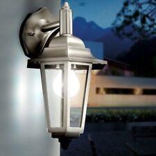 Außen Leuchte Haus Wand Lampe Edelstahl Laterne Garten Grundstück Beleuchtung
