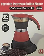 Electric Cuban Espresso Coffee Maker (Cafetera electrica cubana 1-3 tazas)