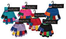Kinder-Handschuhe  Rot Blau Schwarz Pink Flieder für Mädchen und Jungen CH7150