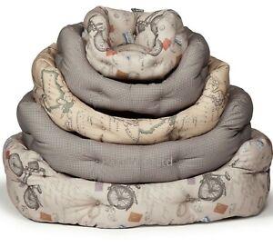"VINTAGE DELUXE SLUMBER BEDS - (18"" - 40"") - Danish Design dd PawMits Dog Cushion"