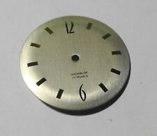 WATCHMAKER WATCHMAKING DIAL WATCH CURVED GREY DIAMETER 1 3/16in