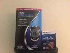 BUY 100 LANCETS 33G AND GET True Metrix Blood Glucose Monitoring System Kit FREE