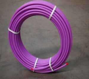 Pex Pipe - Lilac Pipe 16mm x 0.20mm x 50.00m - Pex  Pipe Water Crimp System