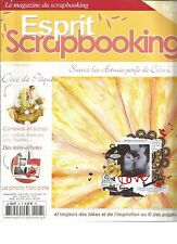 ESPRIT SCRAPBOOKING N°26 DECO DE PAQUES / CANEVAS ET SCRAP / MINI-ALBUMS