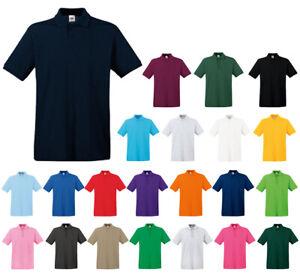 Herren Polo Shirt Premium Polo von Fruit of the Loom