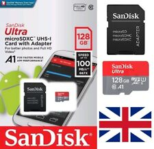 SanDisk Ultra Micro SD 32GB 64GB 128GB Class 10 SDHC SDXC Memory Card & Adapter