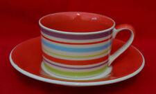Ceramic Striped Saucers