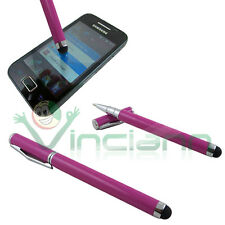 Pennino stylus VIOLA penna a sfera display per Samsung Galaxy S i9000 i9001 PSV1