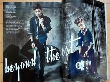 TVXQ Yunho Changmin/Cuttings 10p----Magazine Clippings /Vogue Korea/Oct. 2012