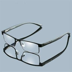Metal Titanium Alloy Business Reading Glasses Magnifying Eyeglasses +1.00~+4.0