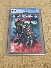 ** Suicide Squad Rebirth 1 CGC 9.8 White Pages- PICK ONE