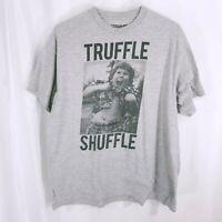 Ripple Junction Mens Chunk The Goonies Short Sleeve T Shirt Gray Size XL
