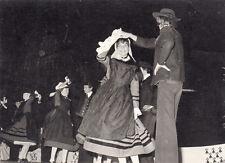 Photo 14.5X10.5 cm danse en costumes traditionnels loire-atlantique