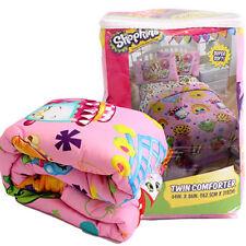 "Comforter Twin 64"" x 86"" Shopkins Super Soft Girl Pink New"