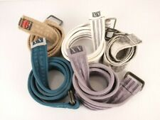 Armani Exchange AX Men's Belts Skater Cloth Lot of 5 Multiple Lengths  44