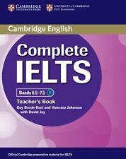 Complete Ielts Bands 6.5-7.5 Teacher's Book: By Guy Brook-Hart, Vanessa Jakeman